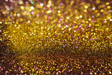 Colorful Abstract Golden And B...