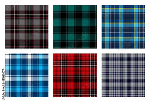 Recess Fitting Pattern seamless checkered plaid pattern bundle 8. nice for background, wallpaper, and decorative purpose, fabrication and textile design such as flannel etc.