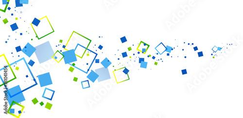 Fotografie, Obraz  sfondo, quadrati, forme, pixel
