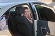 beautiful blond auto girl