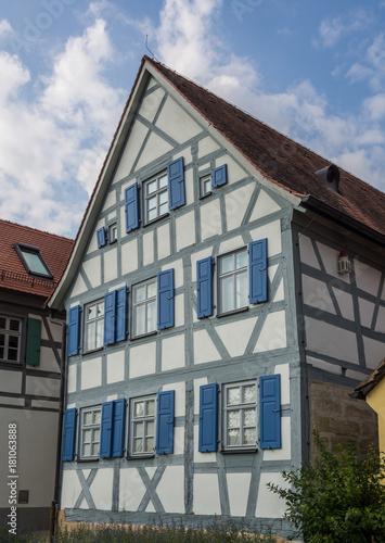 Photographie  Geburtshaus Levi Strauss in Franken