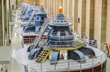 Hoover Dam Power Plant Turbine...