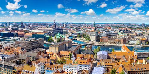 Copenhagen panorama Canvas Print