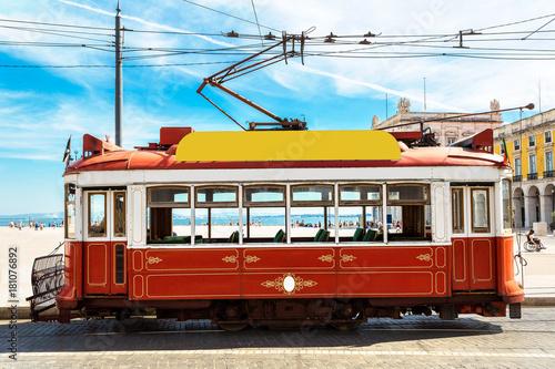 Lisbon tram Canvas