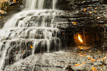 Eternal Flame Waterfall