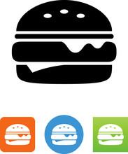 Vector Cheeseburger Icon