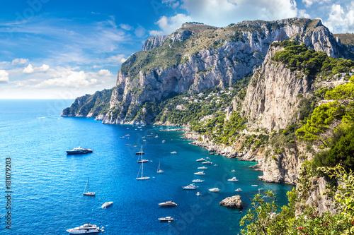 Valokuva  Capri island in  Italy