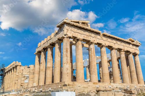 Fotobehang Athene Parthenon temple on the Acropolis in Athens