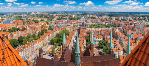Gdansk, aerial view, Poland