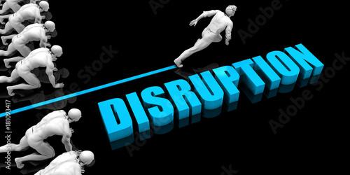Fotografie, Obraz  Superior Disruption