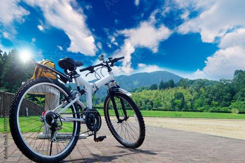 サイクリング Fototapeta
