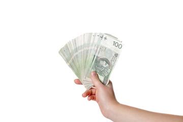 Polskie pieniądze 100 złotych