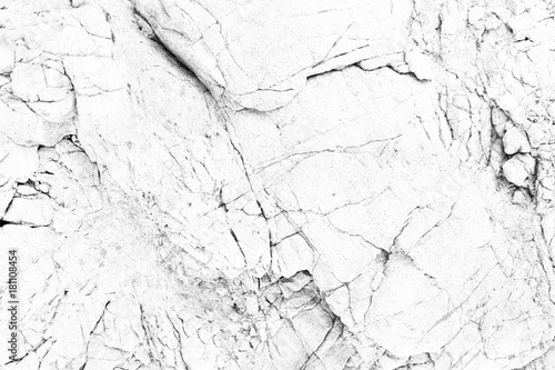 Fotografía  Rock texture and surface background. White Texture