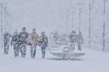 WINTER ATTACK - People Walking...