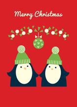 Merry Christmas Retro Styled G...