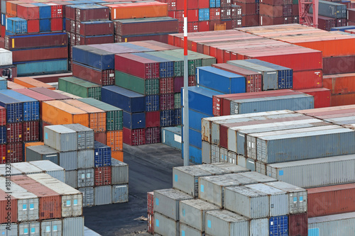 Poster Bibliotheque Cargo Terminal Containers