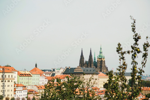 Photo  Cityscape of old town in Prague, Czech Republic