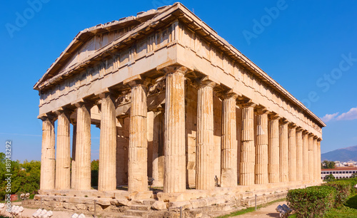 Staande foto Athene Temple of Hephaestus