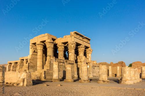 Foto  Komombo Tempel in Ägypten