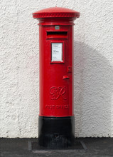 British Red Pillar Box