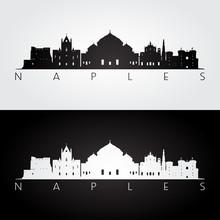 Naples Skyline And Landmarks S...
