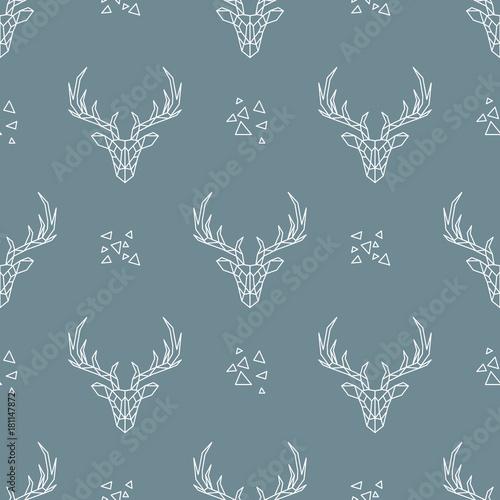 deer-wzor-na-ciemnym-niebieskim-tle-wektorowa