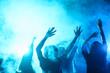 canvas print picture - nightclub