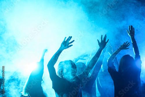 Fotomural nightclub