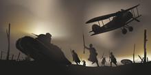 Guerre Mondiale - 14-18 - Bata...