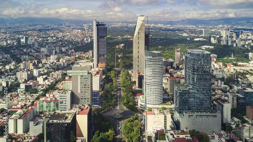 Fotografie, Obraz  mexico city skyline