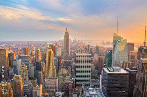 Obraz na dibondzie (fotoboard) NY Skyline