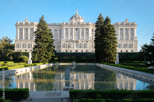 The Royal Palace of Madrid