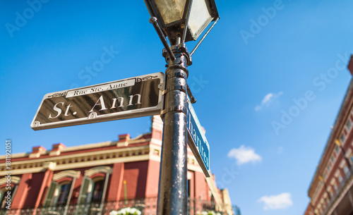 Photo Street signs in New Orleans