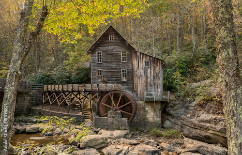Babcock grist mill in West Virginia Fototapet