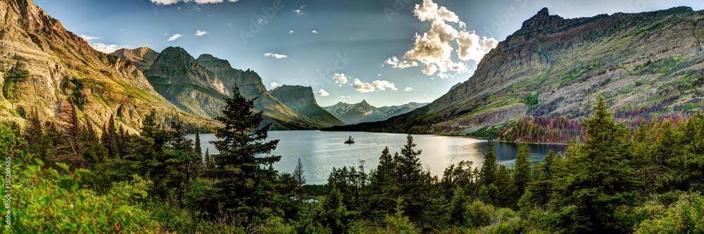Fototapety, obrazy: Montana Glacier National Park Vista