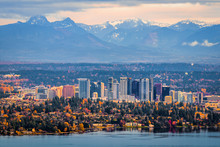 Bellevue Washington. The Snowy...