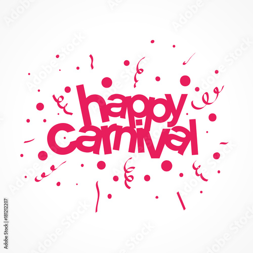 Photo happy carnival