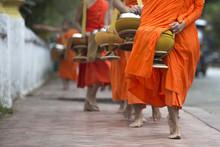 Buddhist Monks On Everyday Mor...