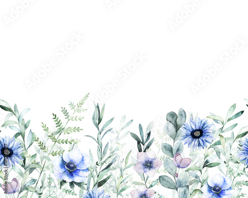 meadow-watercolor-template-hand-drawn-illustration