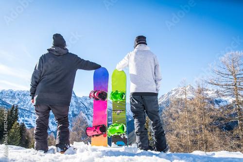 Fényképezés Snowboarder
