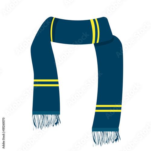 Fotografía Isolated winter scarf
