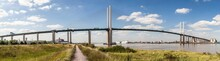QEII Bridge Over The River Tha...