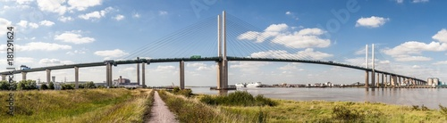 Photo  QEII Bridge over the River Thames