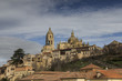 View of the Cathedral of Segovia.