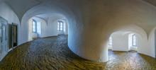 Equestrian Stairway Inside Of The Rundetaarn Tower In Central Copenhagen.