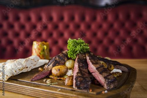 Staande foto Vlees beef special