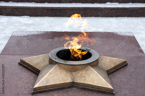 Fotografia  The burning eternal flame