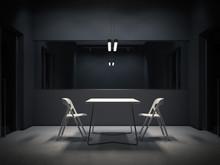 Dark Room For Interrogation. 3...