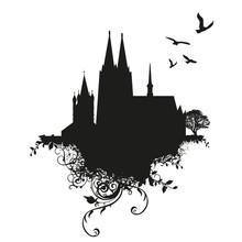 Vector Illustration Vom Kölne...