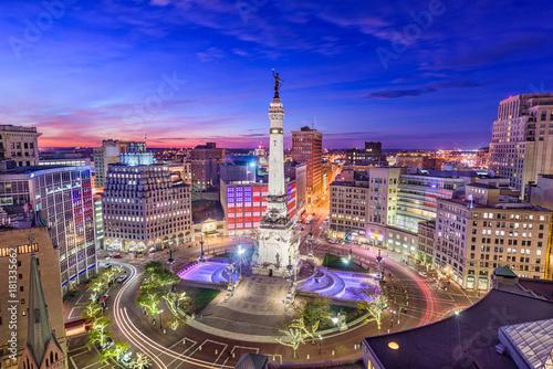 Fotografie, Obraz  Indianapolis, Indiana, USA